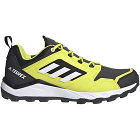 adidas TERREX Agravic TR Trail Running Shoes Men, acid yellow/feather white/core black